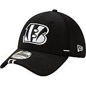 New Era Men's Cincinnati Bengals Sideline Training Camp 39Thirty Stretch Fit Black Hat