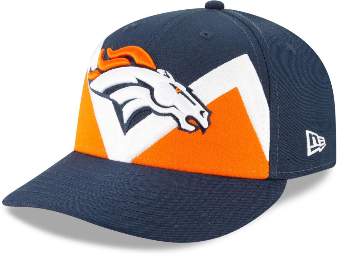 b4928c51 New Era Men's Denver Broncos 2019 NFL Draft 59Fifty Fitted Navy Hat