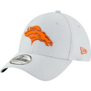 New Era Men's Denver Broncos Sideline Training Camp 39Thirty Grey Stretch Fit Hat