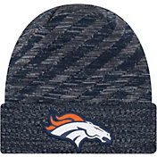New Era Men's Denver Broncos Sideline Cold Weather TD Navy Knit