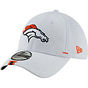 b318bdbd Product Image · New Era Men's Denver Broncos Sideline Training Camp 39Thirty  Stretch Fit White Hat