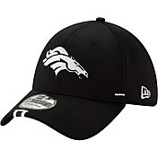 New Era Men's Denver Broncos Sideline Training Camp 39Thirty Stretch Fit Black Hat