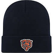 New Era Men's Chicago Bears Navy Cuffed Knit
