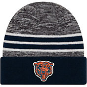 New Era Men's Chicago Bears Marled Navy Cuffed Knit Beanie