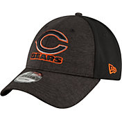 New Era Men's Chicago Bears Shadow Front 9Forty Black Adjustable Hat