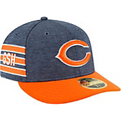 New Era Men's Chicago Bears Sideline Home 59Fifty Navy Fitted Hat