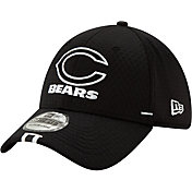 New Era Men's Chicago Bears Sideline Training Camp 39Thirty Stretch Fit Black Hat