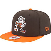 New Era Men's Cleveland Browns Legacy 9Fifty Brown Adjustable Hat