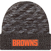 New Era Men's Cleveland Browns Sideline Cold Weather TD Brown Knit