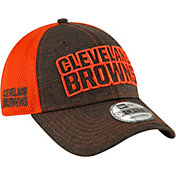 New Era Men's Cleveland Browns Surge 9Forty Brown Adjustable Hat