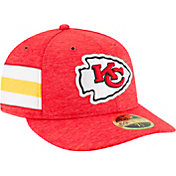 New Era Men's Kansas City Chiefs Sideline Home 59Fifty Red Fitted Hat