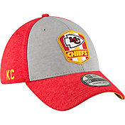 New Era Men's Kansas City Chiefs Sideline Road 39Thirty Stretch Fit Hat