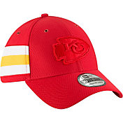 New Era Men's Kansas City Chiefs Sideline Color Rush 39Thirty Red Stretch Fit Hat