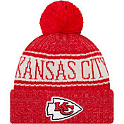 New Era Men's Kansas City Chiefs Sideline Cold Weather Red Sport Knit