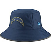 New Era Men's Los Angeles Chargers Sideline Training Camp Navy Bucket Hat