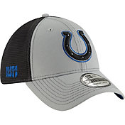 New Era Men's Indianapolis Colts 2Tone-Sided Graphite Stretch-Fit Hat