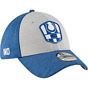 New Era Men's Indianapolis Colts Sideline Road 39Thirty Stretch Fit Hat