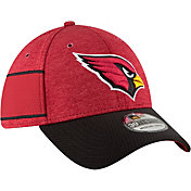 New Era Men's Arizona Cardinals Sideline Home 39Thirty Red Stretch Fit Hat