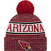 New Era Men's Arizona Cardinals Sideline Cold Weather Red Sport Knit