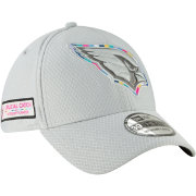 New Era Men's Crucial Catch Arizona Cardinals Sideline 39Thirty White Stretch Fit Hat