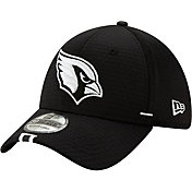 New Era Men's Arizona Cardinals Sideline Training Camp 39Thirty Stretch Fit Black Hat