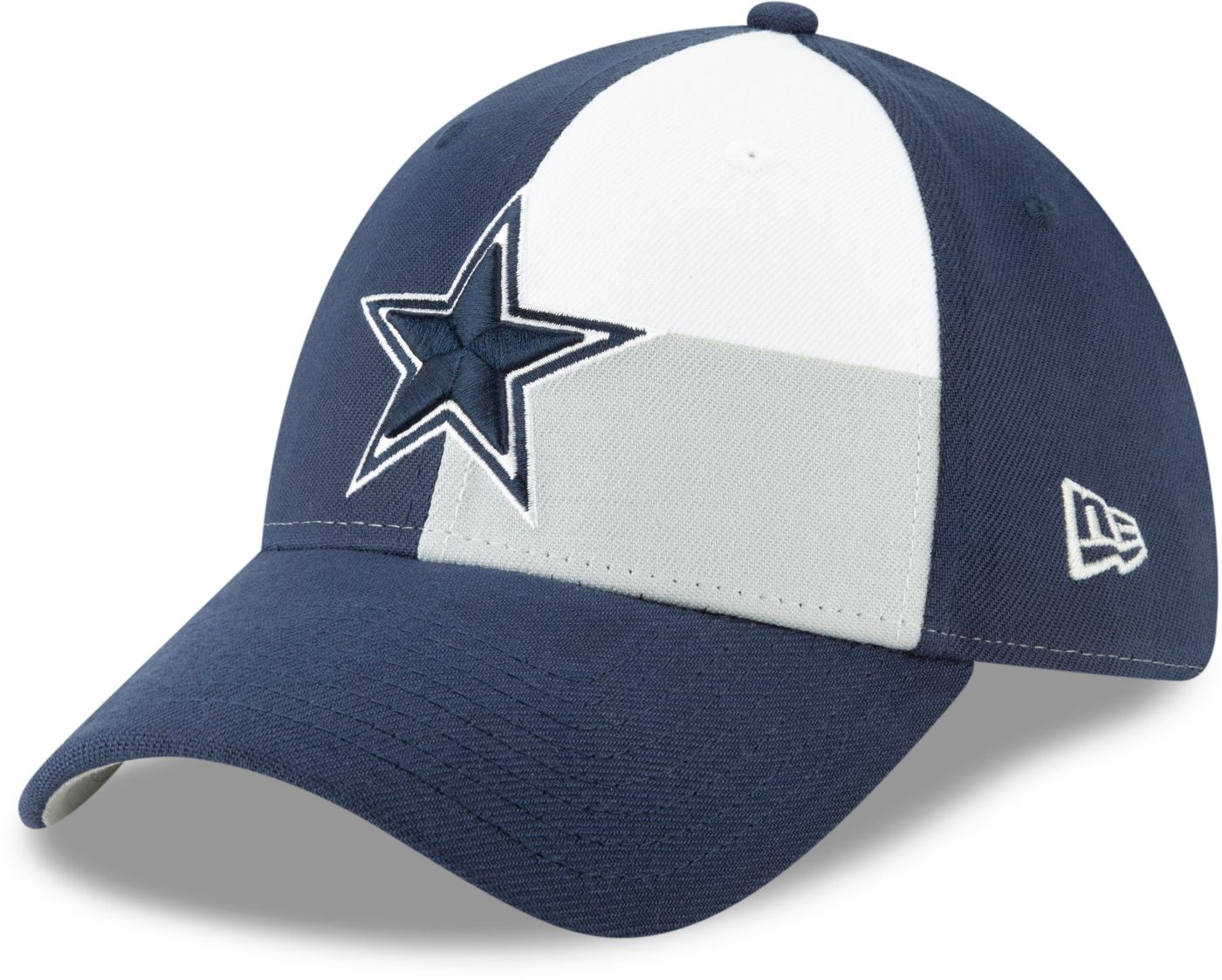 New Era Men's Dallas Cowboys 2019 NFL Draft 39Thirty Stretch Fit Navy Hat