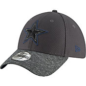 New Era Men's Dallas Cowboys Pop Shadow 39Thirty Graphite Stretch Fit Hat