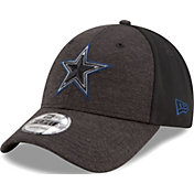 New Era Men's Dallas Cowboys Shadow Front 9Forty Black Adjustable Hat