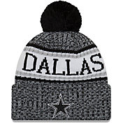 New Era Men's Dallas Cowboys Sideline Cold Weather Sport Black Knit