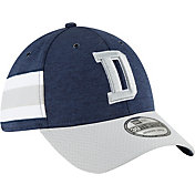 New Era Men's Dallas Cowboys Sideline Home 39Thirty Navy Stretch Fit Hat
