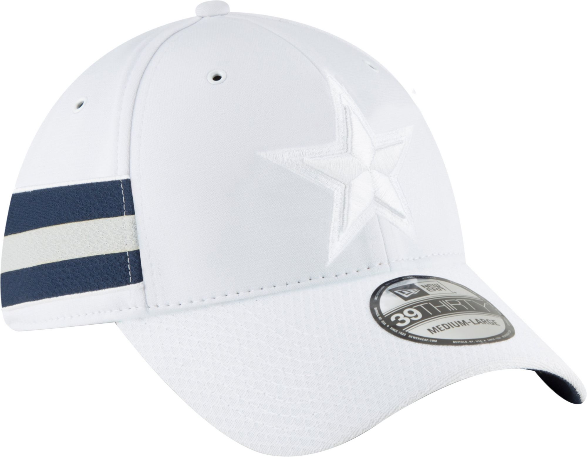 57ac5f4ed82 ... where to buy new era mens dallas cowboys sideline color rush 39thirty  white stretch fit hat
