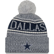 New Era Men's Dallas Cowboys Sideline Cold Weather Reverse Navy Sport Knit