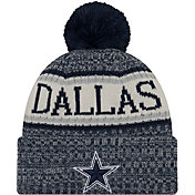 New Era Men's Dallas Cowboys Sideline Cold Weather Navy Sport Knit
