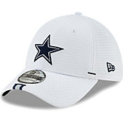 New Era Men's Dallas Cowboys Sideline Training Camp 39Thirty Stretch Fit White Hat