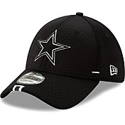 New Era Men's Dallas Cowboys Sideline Training Camp 39Thirty Stretch Fit Black Hat