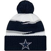 New Era Men's Dallas Cowboys Thanksgiving Navy Pom Knit