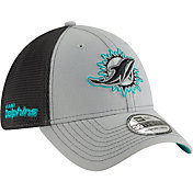 New Era Men's Miami Dolphins 2Tone-Sided Graphite Stretch-Fit Hat