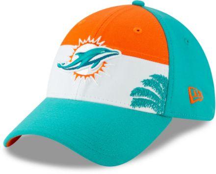 cheap for discount ffb0b 11334 New Era Men  39 s Miami Dolphins 2019 NFL Draft 39Thirty Stretch Fit Aqua