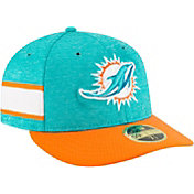 New Era Men's Miami Dolphins Sideline Home 59Fifty Aqua Fitted Hat