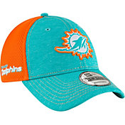 New Era Men's Miami Dolphins Surge 9Forty Aqua Adjustable Hat