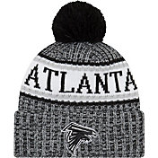 New Era Men's Atlanta Falcons Sideline Cold Weather Black Sport Knit