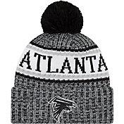 New Era Men's Atlanta Falcons Sideline Cold Weather Black Sport Knit