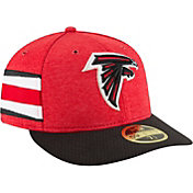 New Era Men's Atlanta Falcons Sideline Home 59Fifty Red Fitted Hat