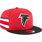 New Era Men's Atlanta Falcons Sideline Home 9Fifty Red Adjustable Hat