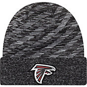 New Era Men's Atlanta Falcons Sideline Cold Weather TD Black Knit