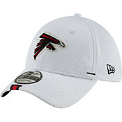 5aca74d767b321 Product Image · New Era Men's Atlanta Falcons Sideline Training Camp  39Thirty Stretch Fit White Hat