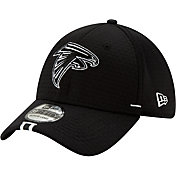 New Era Men's Atlanta Falcons Sideline Training Camp 39Thirty Stretch Fit Black Hat
