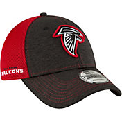 New Era Men's Atlanta Falcons Surge 9Forty Black Adjustable Hat