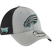 New Era Men's Philadelphia Eagles 2Tone-Sided Graphite Stretch-Fit Hat