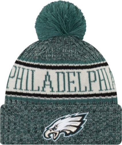 95713875b50 New Era Men s Philadelphia Eagles Sideline Cold Weather Green Sport Knit.  noImageFound